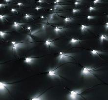 """Гирлянда """"Сетка"""" Ш:1 м, В:0,9 м, нить темная, LED-120 БЕЛЫЙ"""