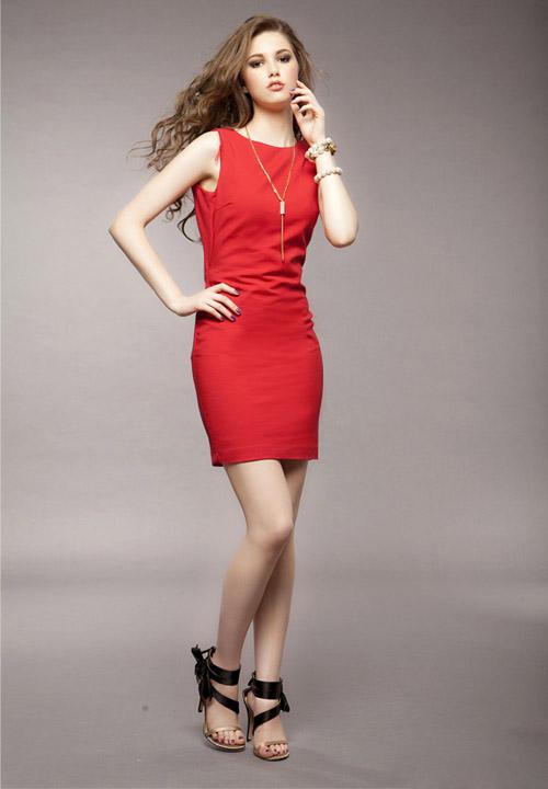 Красно Черное Платье Доставка