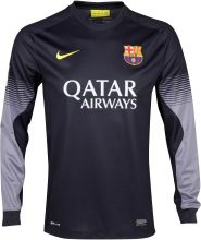 Барселона свитер вратарский домашний 2013-14 / Barcelona Home Goalkeeper Shirt