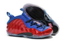 Баскетбольные кроссовки Nike Air Foamposite One Red Blue