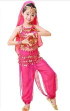 Восточные танцы костюм детский розовый
