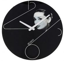 """Часы настенные круглые, """"Одри Хепберн"""""""