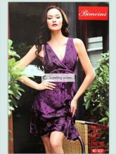Халатик сорочка женская фиолетовая