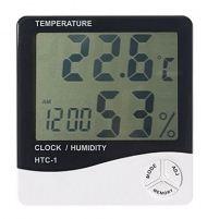 Настольный термометр, гидрометр, часы с большим экраном
