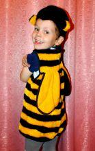 Детский карнавальный костюм Пчелка для мальчика