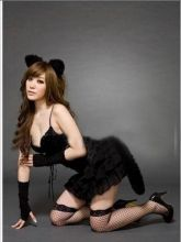 Игровой сексуальный костюм кошечка