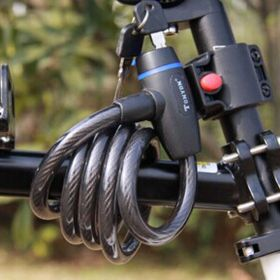 Велосипедный замок с креплением на раму