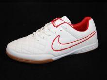 Бутсы зальные Nike Tiempo IC Белые