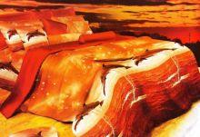 Постельное белье 3D Дельфины, Сатин, Евро