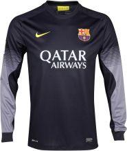 Барселона свитер вратарский домашний 2013-14 / Barcelona Home Goalkeeper Shirt