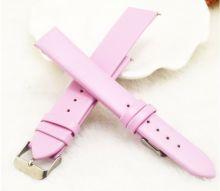 Ремешок для часов розовый 16 мм