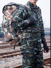 Летний военный камуфляжный костюм