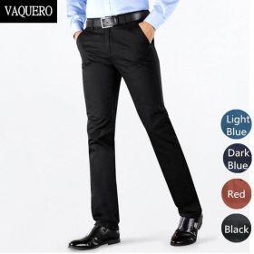 """Мужские брюки стрейтч """"Вестминстер"""" черные"""